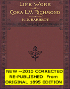 Cora L.V. Richmond's Biography